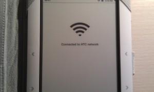 Conectando a la Desire configurada como punto de acceso WIFI